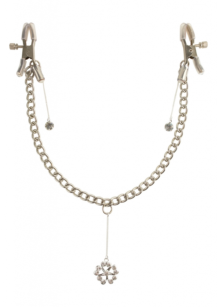 Fetish Fantasy Crystal Nipple Clamps svorky na bradavky - Pipedream