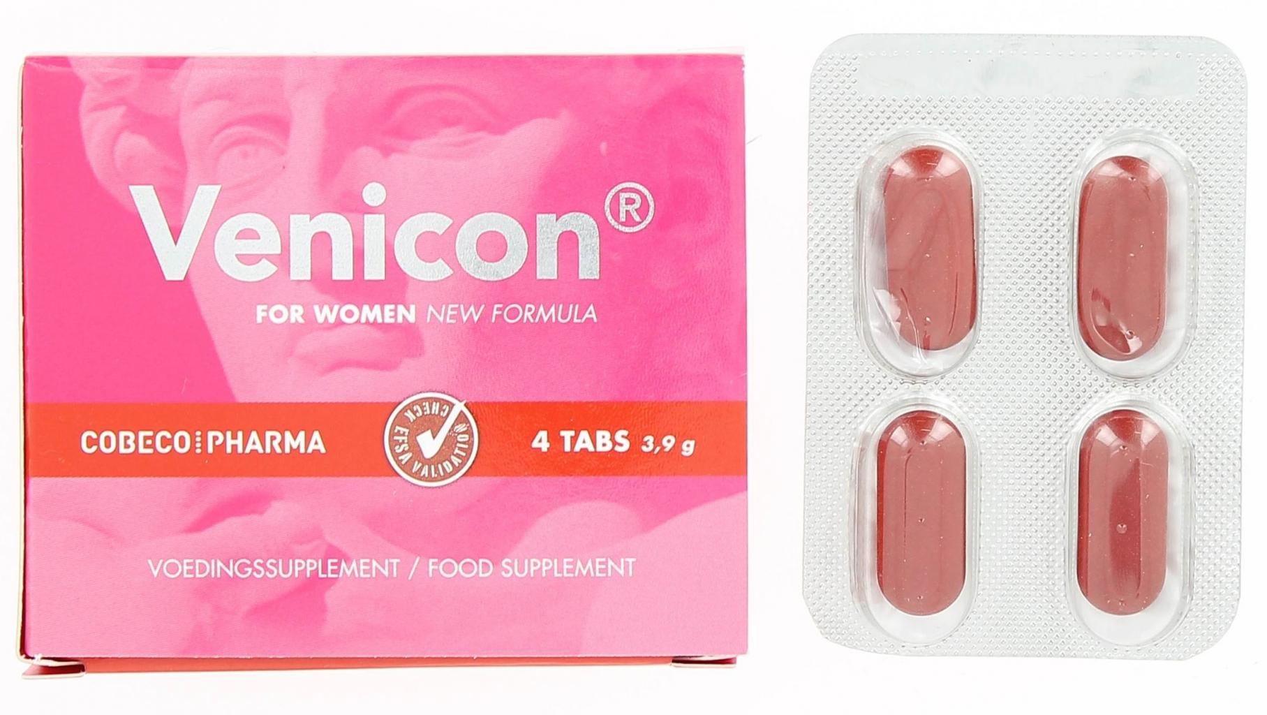 Venicon pro ženy 4 tbl - COBECO pharma