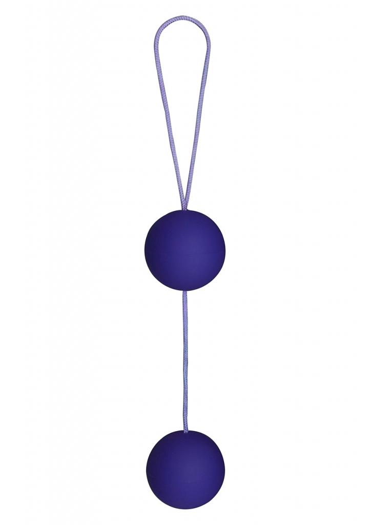 Venušiny kuličky Funky Love Balls purple - Toy Joy