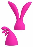 Palm Pleasure nástavce na masážní hlavici Power Jenga - Swan