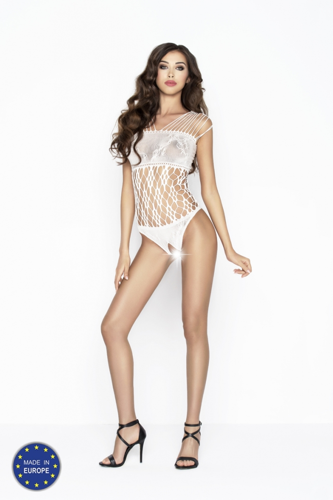 Bodystocking Passion BS035 white