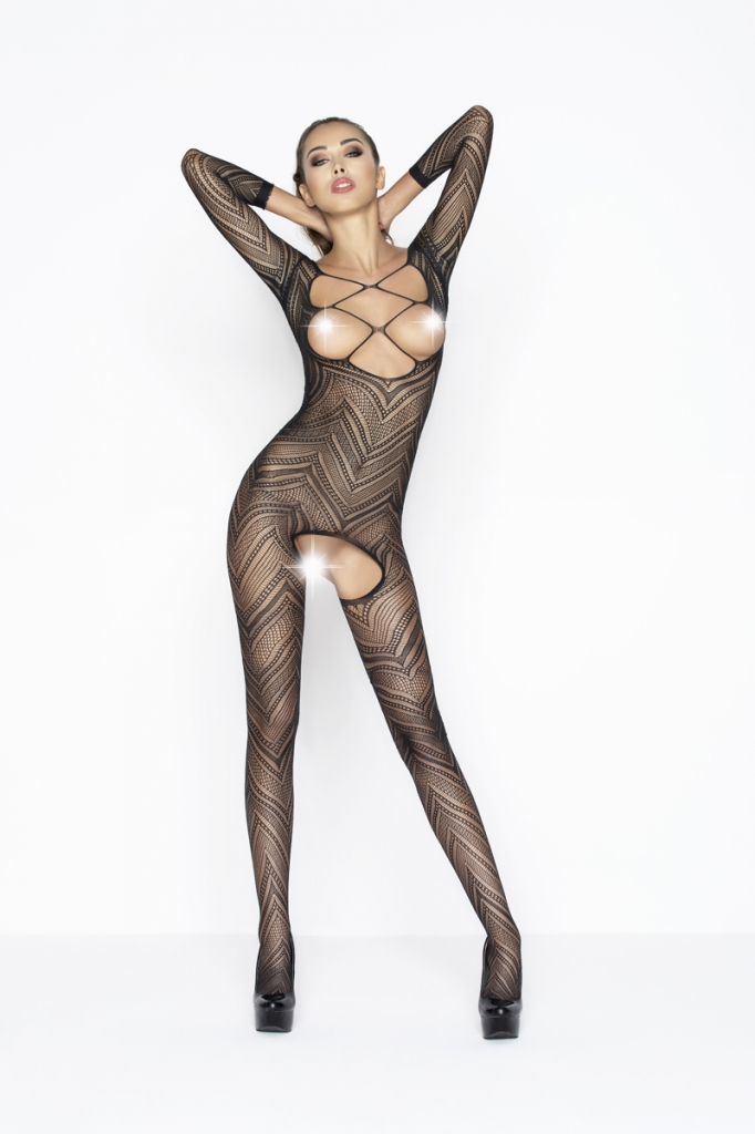 Bodystocking Passion BS040 black