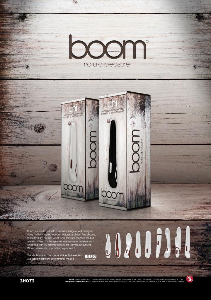 Boom je kolekce nádherných a skvěle navržených vibrátorů v přírodním designu.