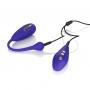 Vibrační vajíčko i dálkový ovladač se nabíjejí pomocí přiloženého USB-kabelu.