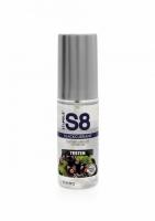 S8 Lubrikant na vodnej báze s príchuťou čierna ríbezľa 50ml TESTER - Stimul8
