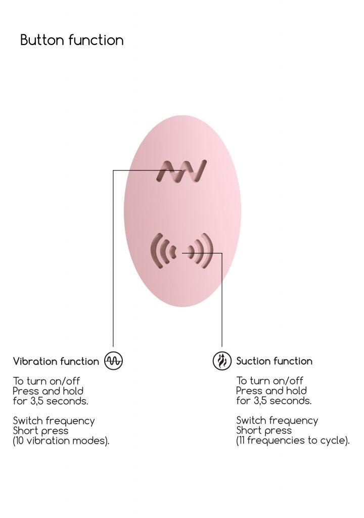 Shots - Irresistible Desirable pink vibrátor so stimulátorom klitorisu