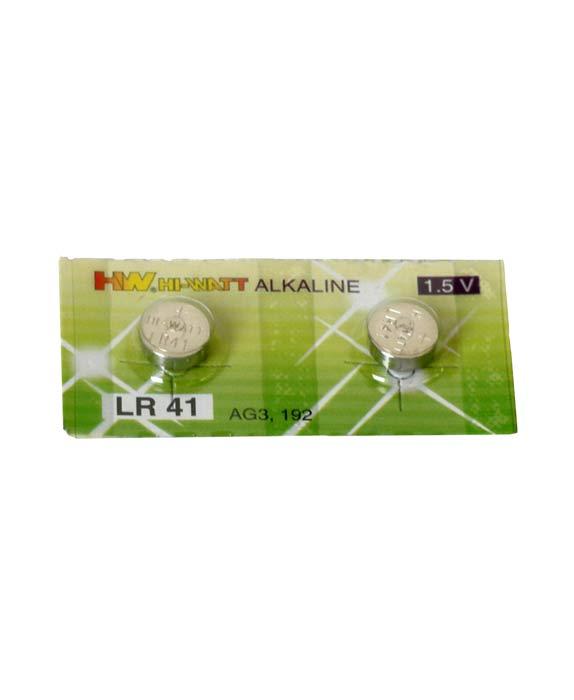 Baterie alkalické hodinkové LR41 2ks