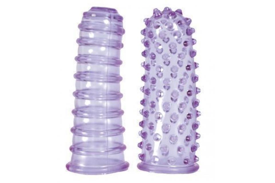 Dráždidla na prsty fialová - Seven Creations