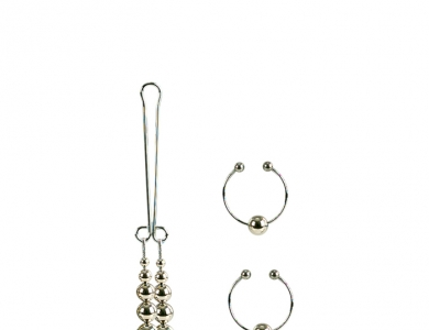 Šperk na klitoris a piercing na bradavky - California Exotic Novelties