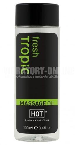 Masážní olej HOT fresh tropic 100ml