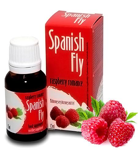 Španělské mušky s příchutí malin 15ml - COBECO pharma