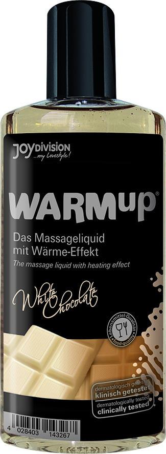 Masážní olej WARMup bílá čokoláda 150ml - JOYDIVISION