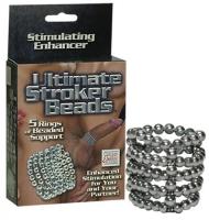 Dráždící perličkový pětikroužek Ultimate Stroker Beads - California Exotic Novelties