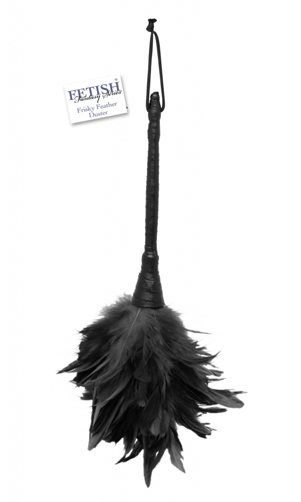 Fetish Fantasy Frisky Feather Duster black - Pipedream