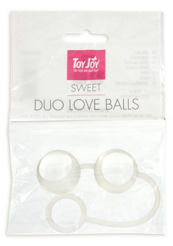 ToyJoy Duo Love Balls Venušine guličky