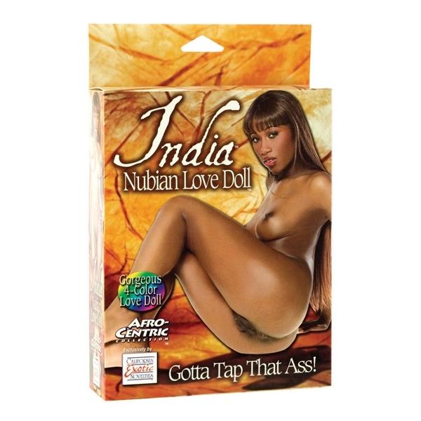 Calexotics India Nubian Love Doll nafukovacia panna