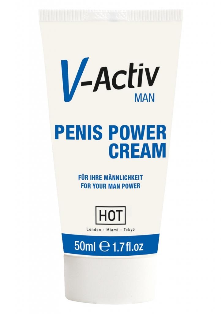 HOT - Afrodiziakum V-Activ Penis Power Cream