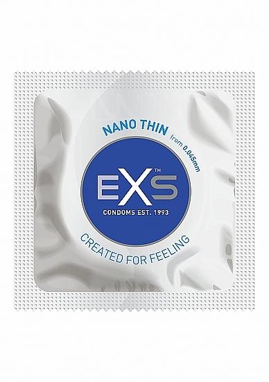 Kondómy EXS Nano Thin 3 pack