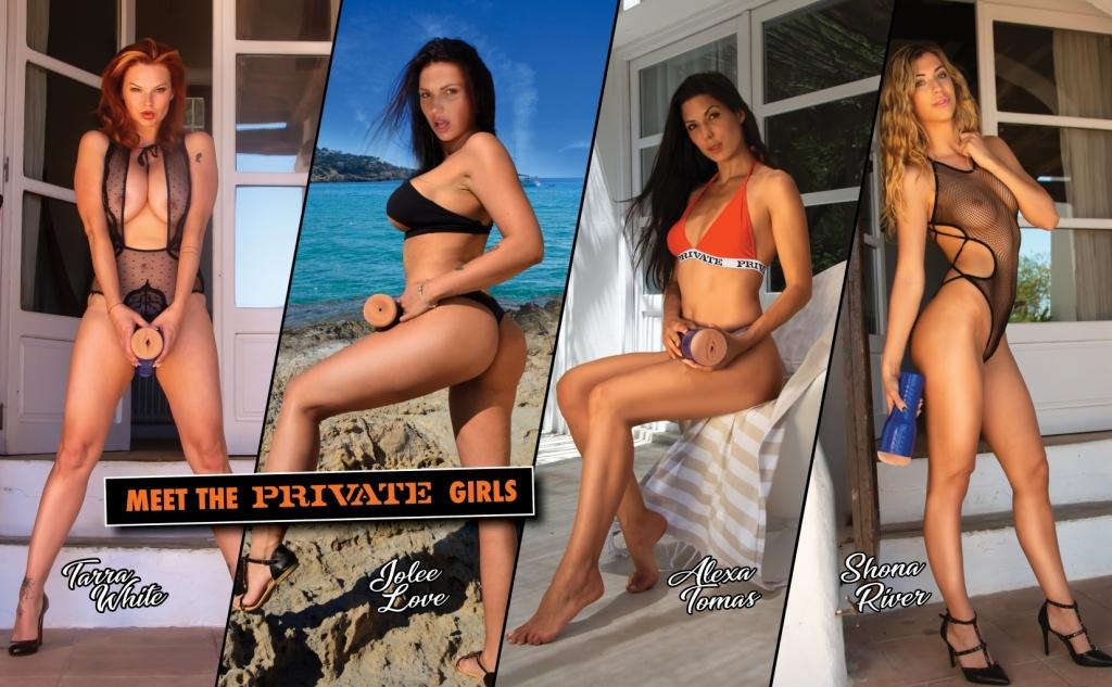Nová kolekce luxusních masturbátorů PRIVATE!