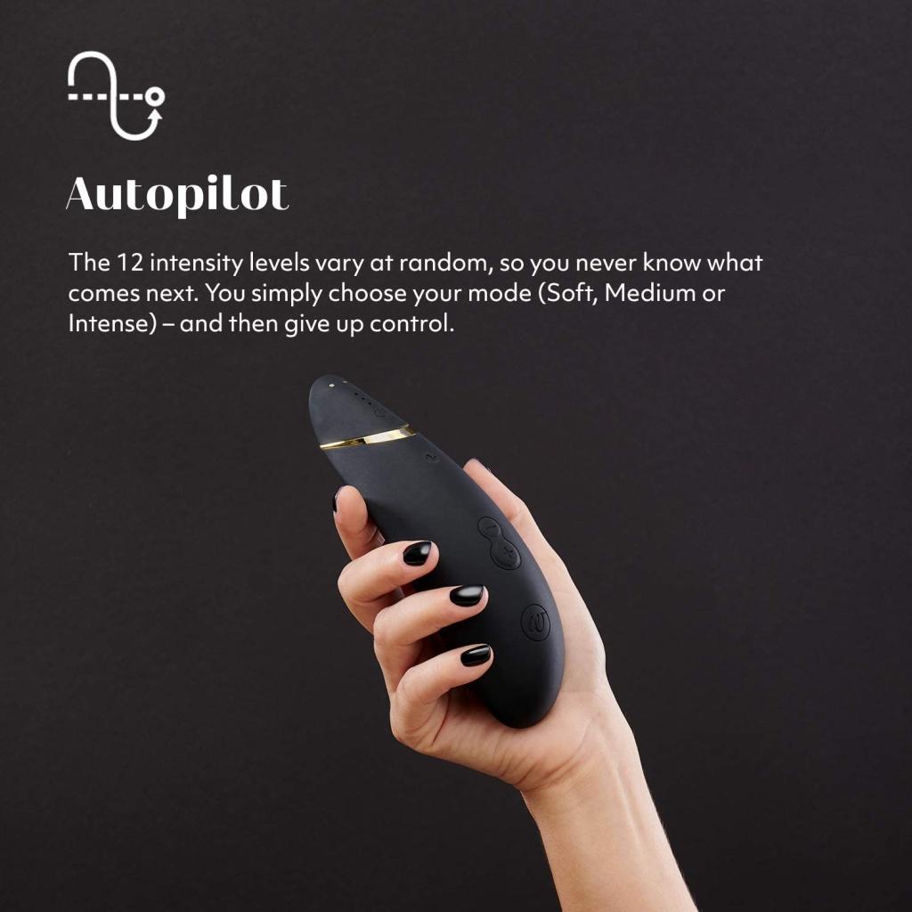 Recenzie na Womanizer Premium Black/Gold Clitoral Stimulator