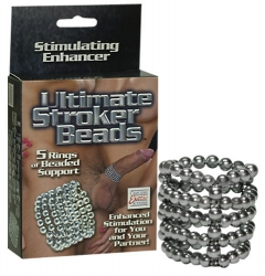 Calexotics Ultimate Stroker Beads krúžok na penis