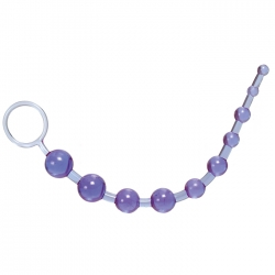 Calexotics X-10 Beads purple análne guličky