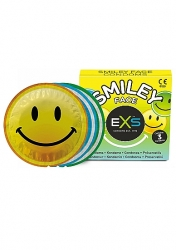 Kondómy EXS Smiley Face 3ks