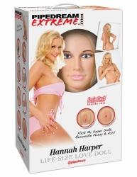 Pipedream Hannah Harper Love Doll nafukovacia panna