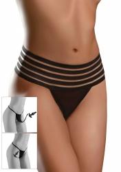 Pipedream - Kalhotky s análním kolíkem Hookup Crotchless Love Garter - velikost S-L