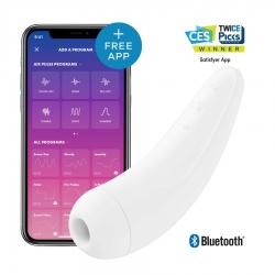 Satisfyer Curvy 2+ White stimulátor klitorisu