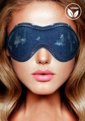 Shots - Ouch! Denim Eye Mask Blue maska na oči