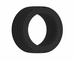 Shots - SONO No.42 Cockring Black erekčný krúžok