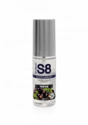 Stimul8 - S8 Lubrikant na vodnej báze s príchuťou čierna ríbezľa 50ml TESTER