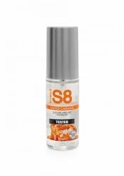 Stimul8 - S8 Lubrikant na vodnej báze s príchuťou slaný karamel 50ml TESTER