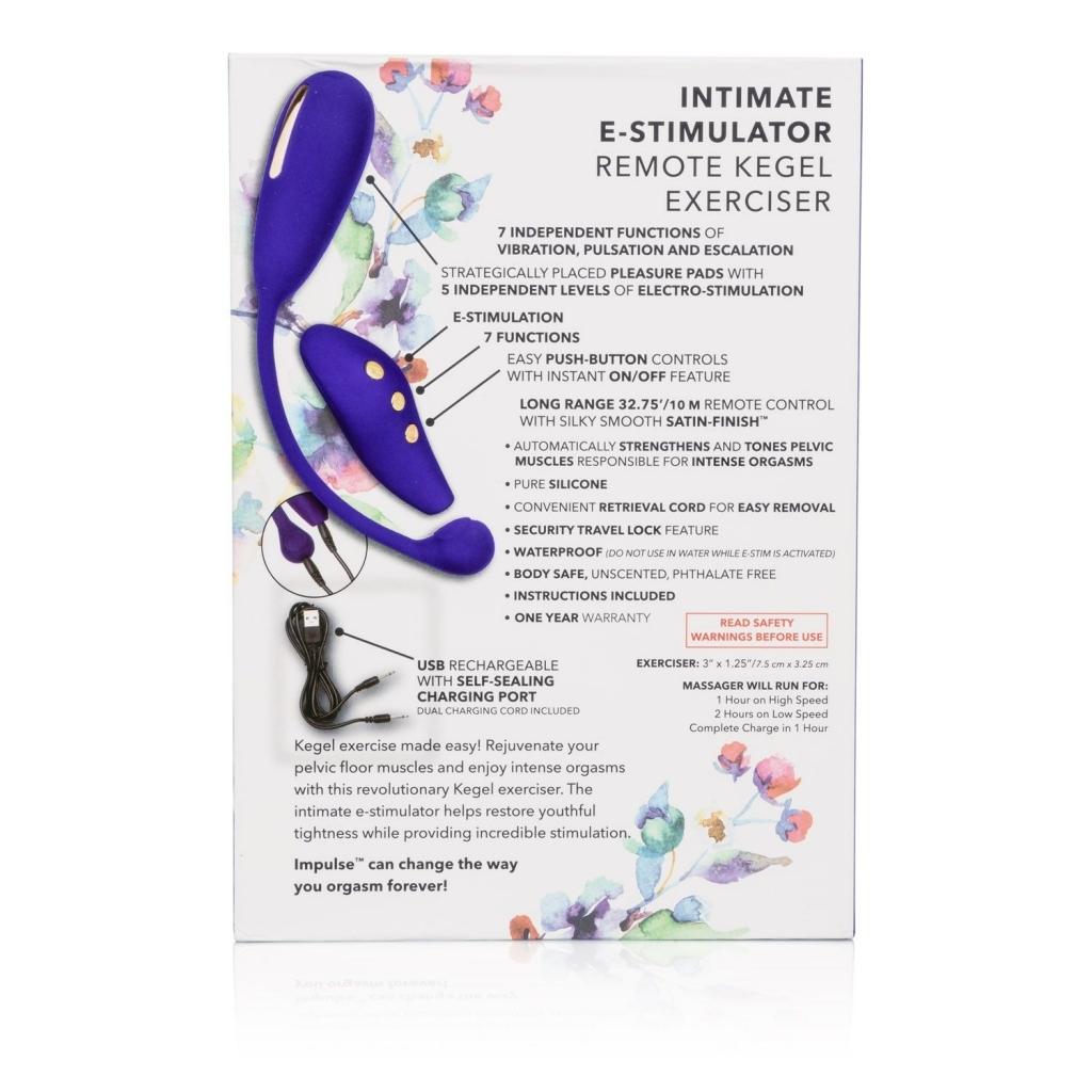 Calexotics - Impulse E-stim Remote Kegel Exerciser